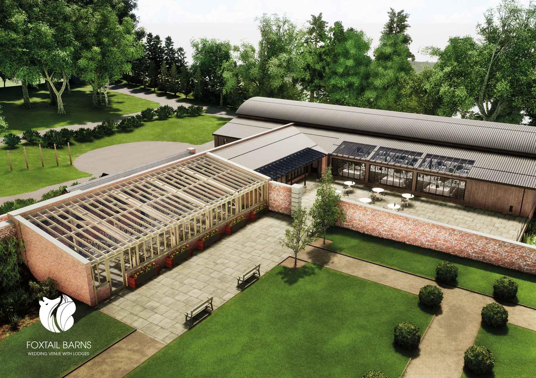 Barn Wedding Venues - New Foxtail Barns Wedding Venue